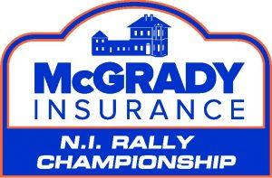 McGrady Insurance MSA Northern Ireland Rally Championship logo